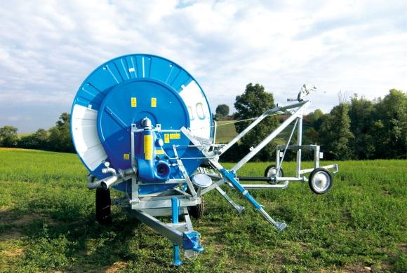 enrouleur Ocmis FOULQUIER Materiel Irrigation Aveyron Tarn