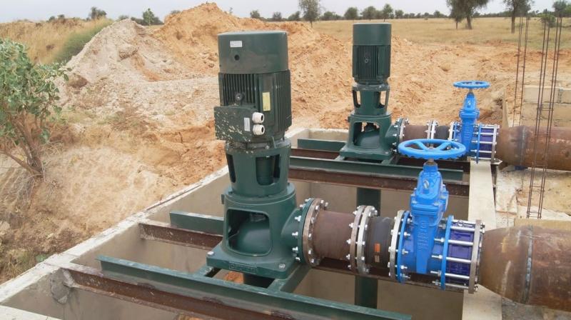 Station de pompage Foulquier pour l'irrigation dans le Tarn et l'Aveyron
