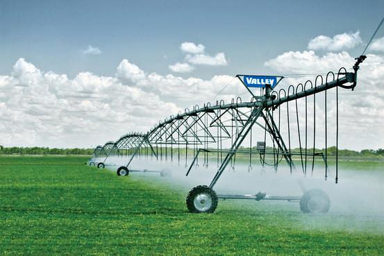 pivot valley irrigation foulquier tarn aveyron
